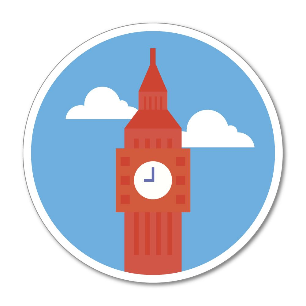 Big Ben Sticker Decal