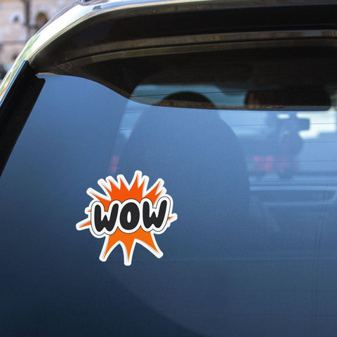 Wow Sticker Decal