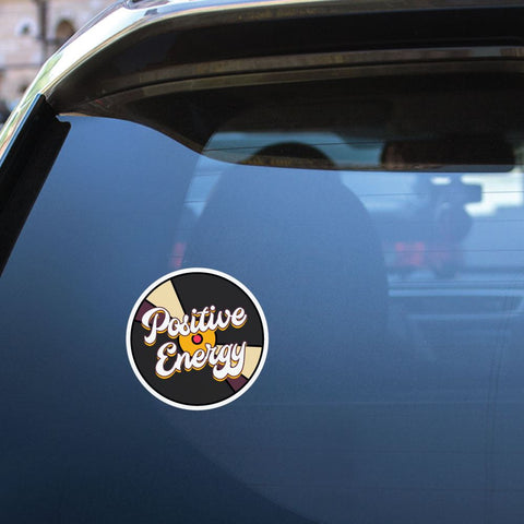 Positive Energy Sticker Decal