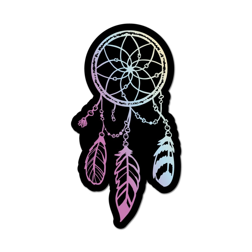Dream Catcher Car Sticker Decal