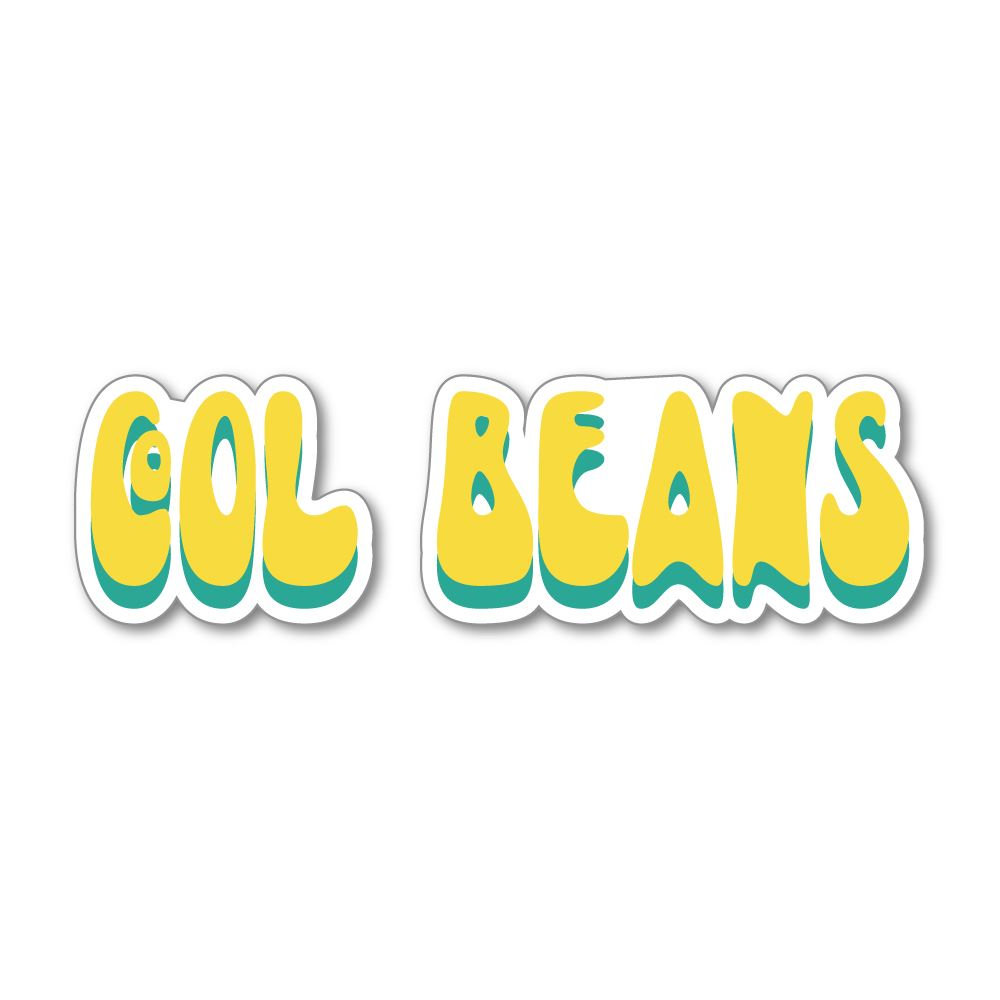 Cool Beans Sticker Decal