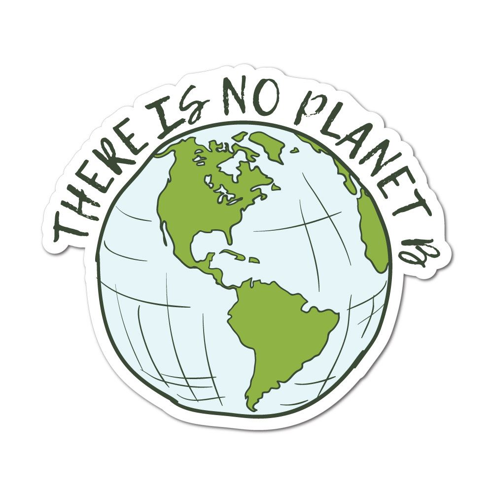 There Is No Planet B Sticker Decal