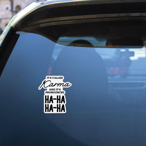 Karma Sticker Decal