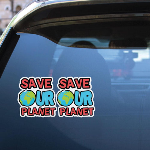 Make Earth Happy Again Sticker Decal