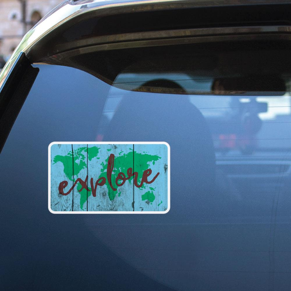 Explore Sticker Decal