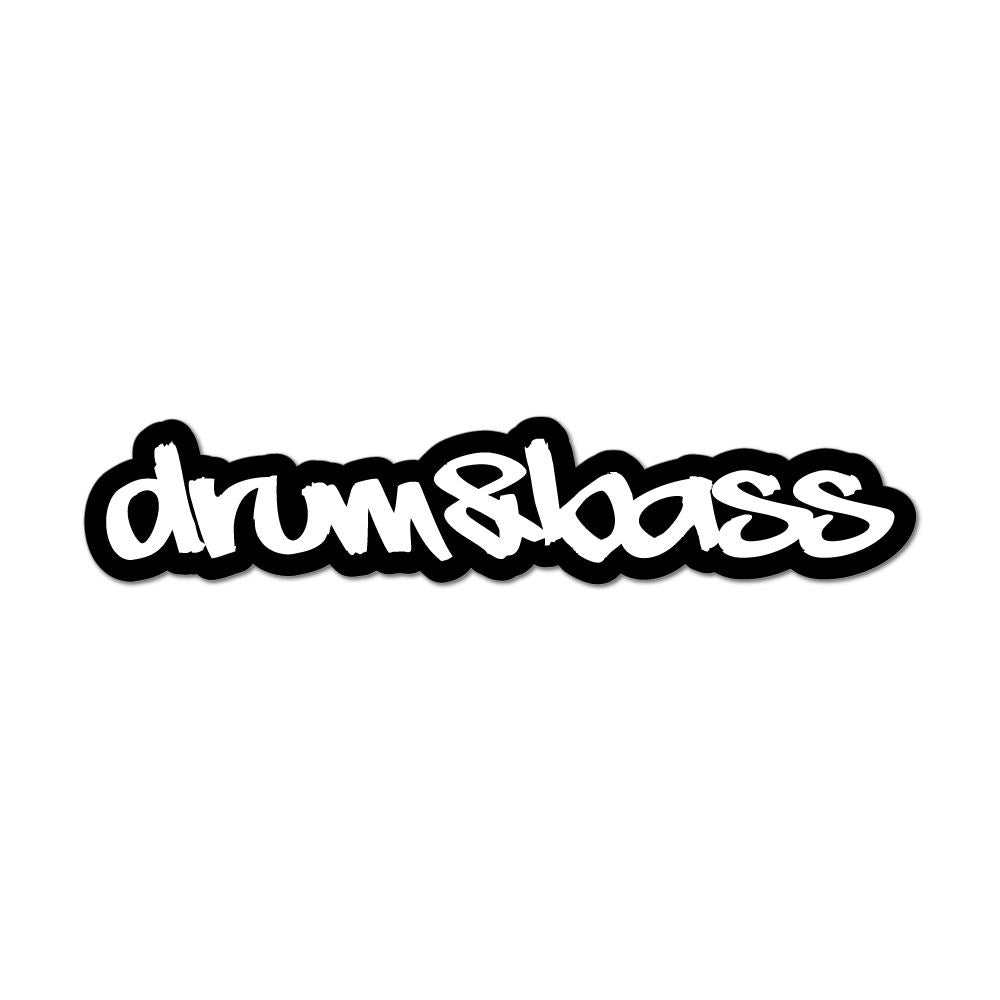Drum And Bass Dj Car Sticker Decal
