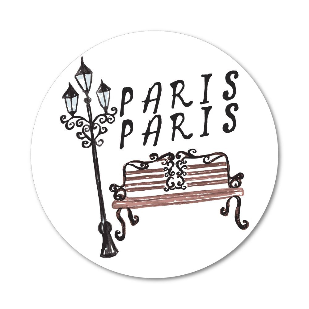 Paris Sticker Decal