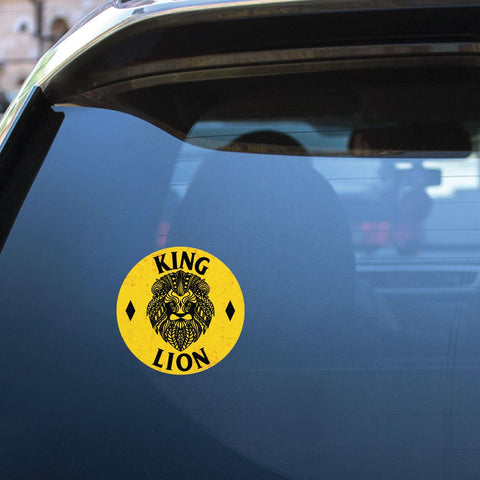 Safari Animal Lion Sticker Decal