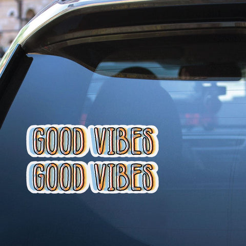 Good Vibes Sticker Decal