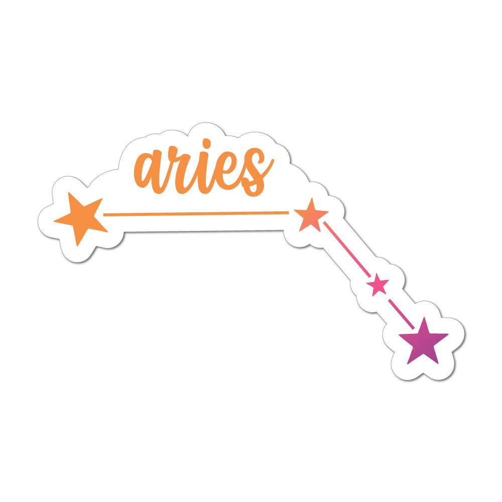 Aries Laptop Car Sticker Decal