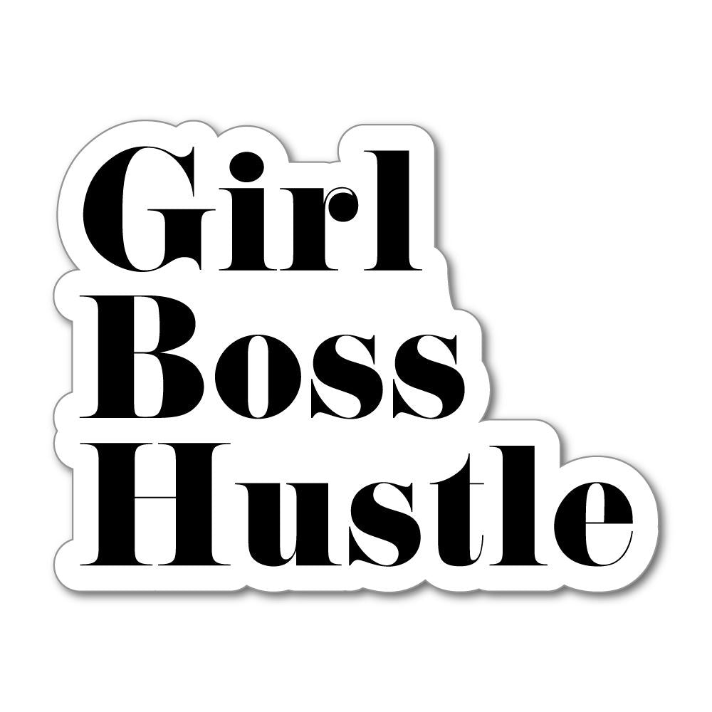 Girl Boss Hustle Sticker Decal