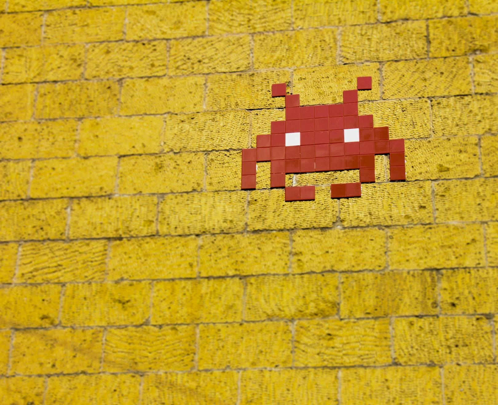 Space Invaders Wall