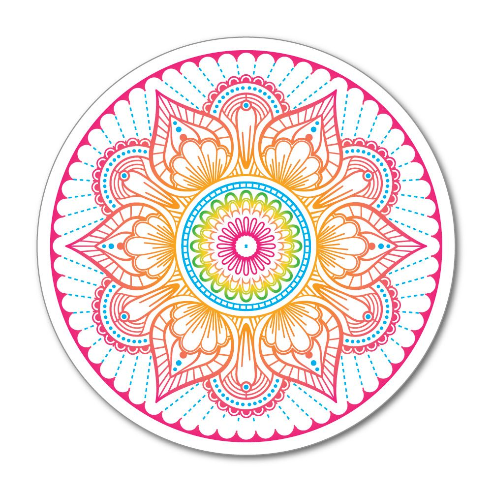 Mandala Flower Sticker Decal