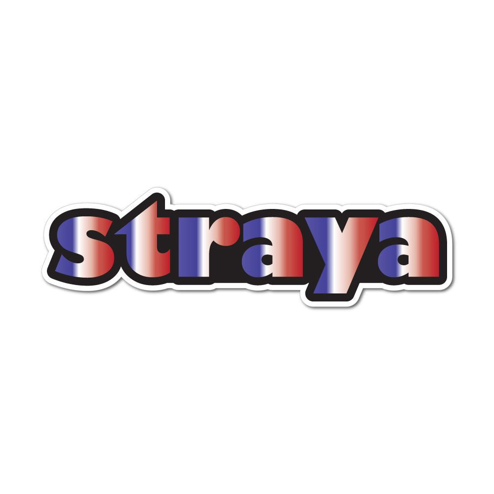 Straya Sticker Decal