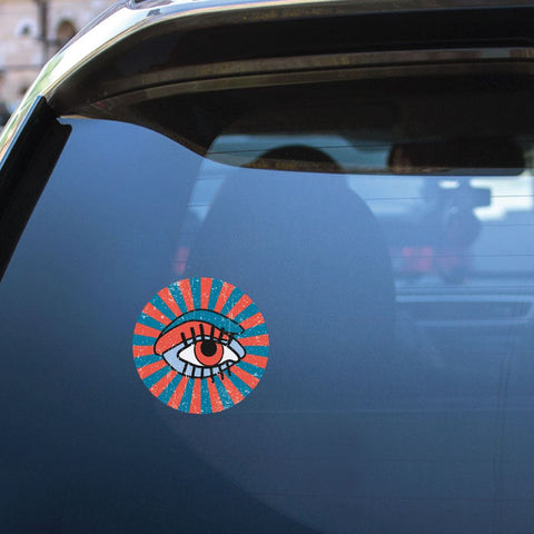 Pop Eye Sticker Decal