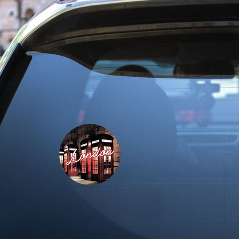 London Sticker Decal