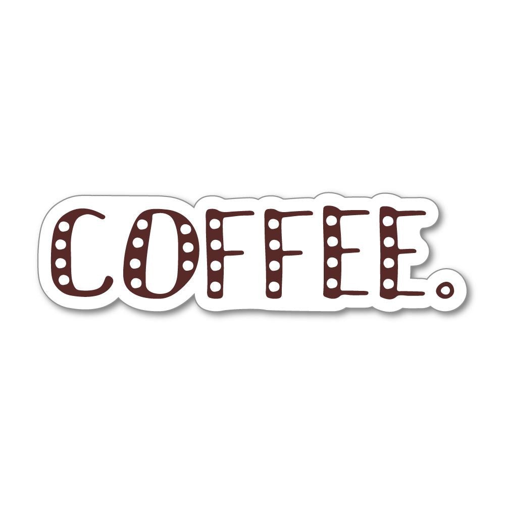 Coffee Sticker Decal
