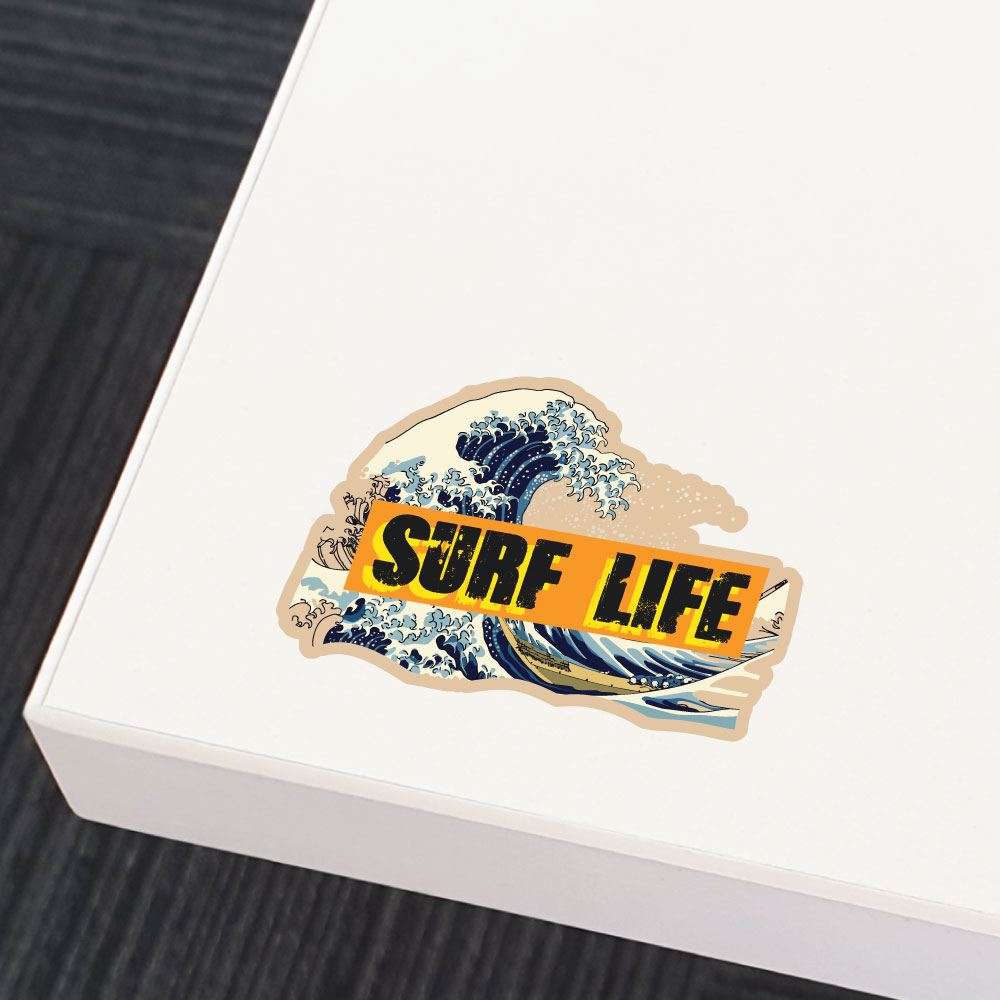 Surf Life Sticker Decal