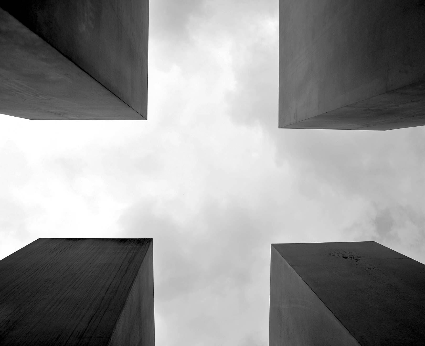 Four Concrete Blocks
