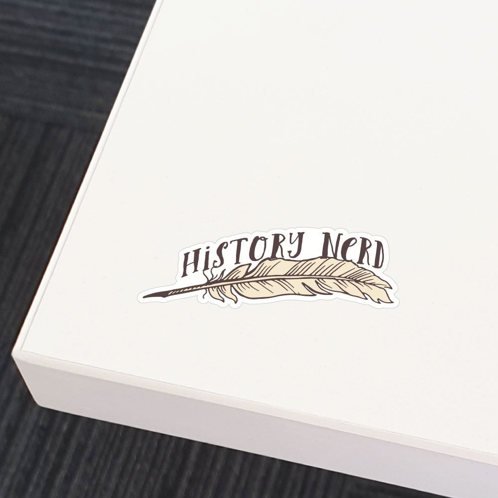 History Nerd Sticker Decal