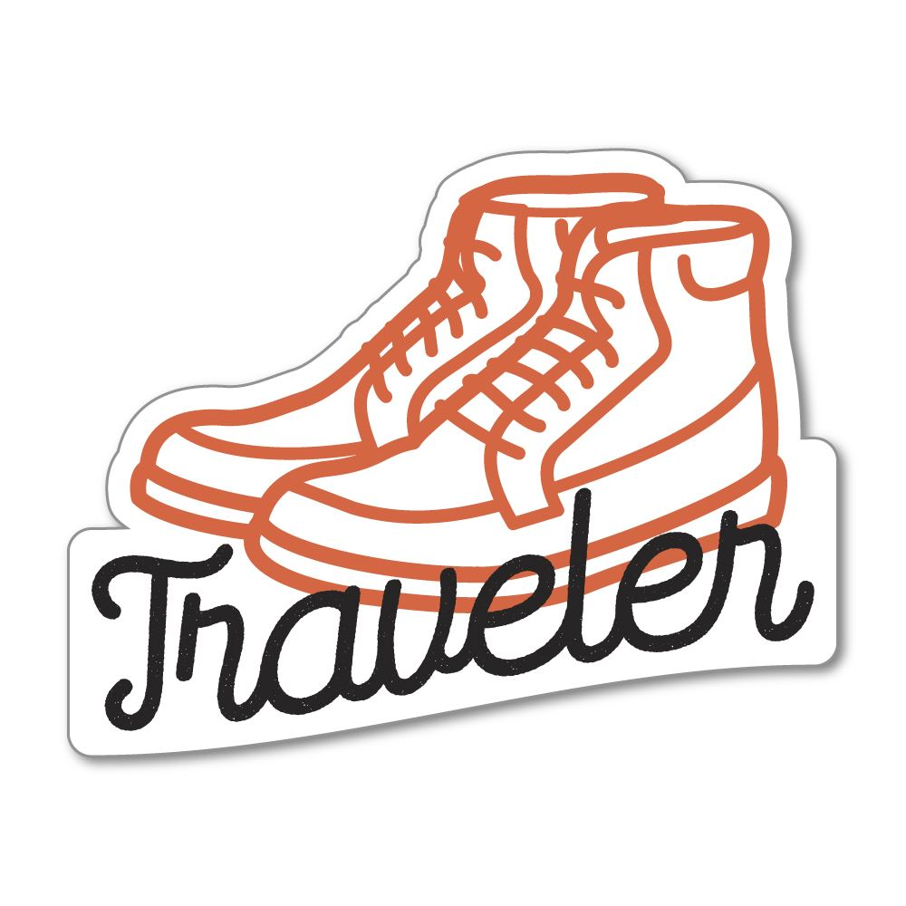 Traveler Sticker Decal