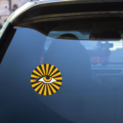 Tiger Eye Sticker Decal