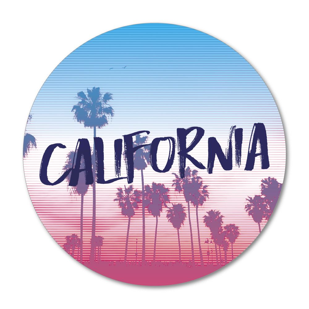 California Sticker Decal