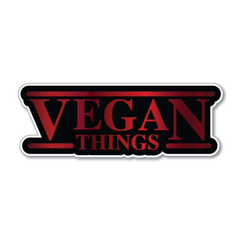 Vegan Things Sticker Decal