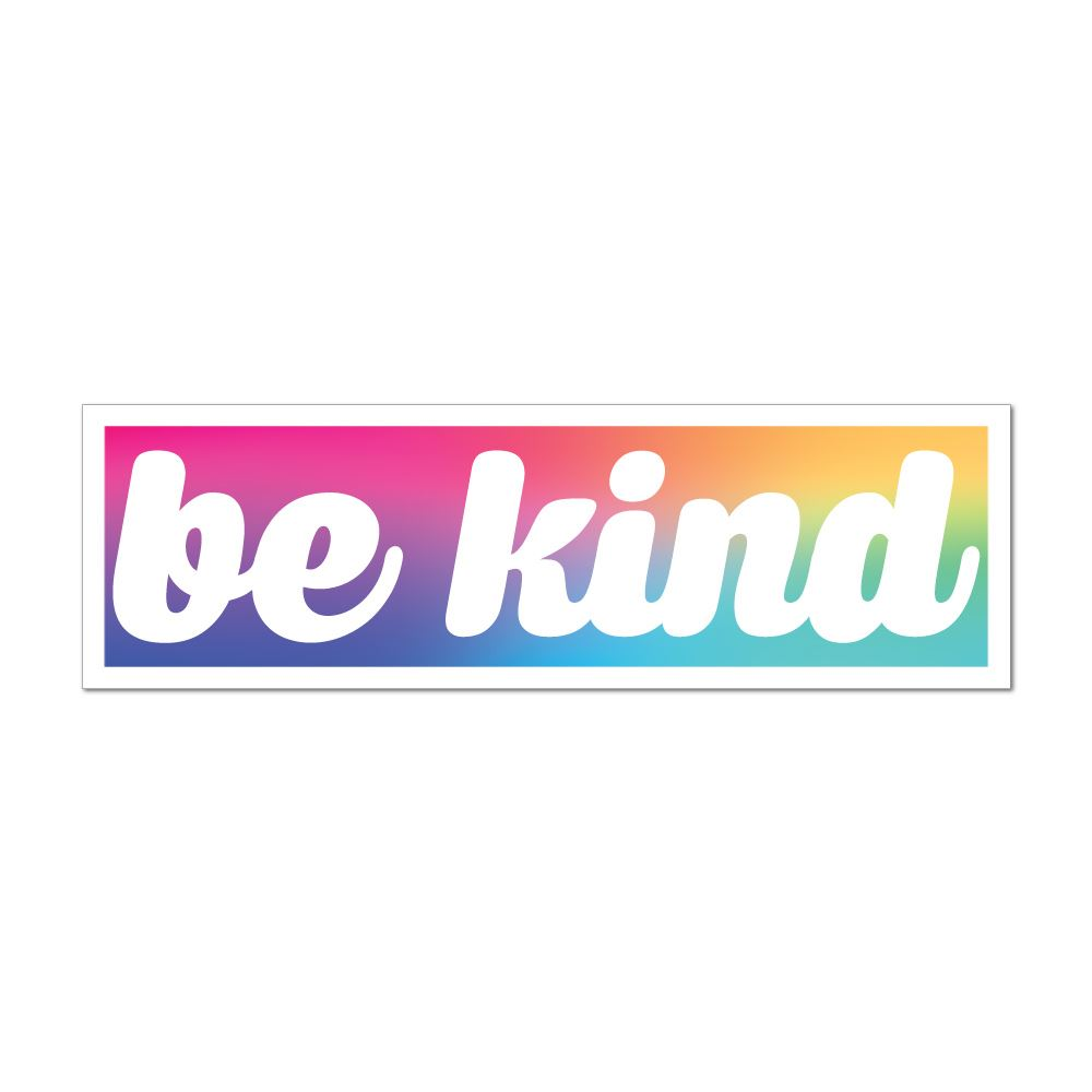 Be Kind Car Sticker Decal