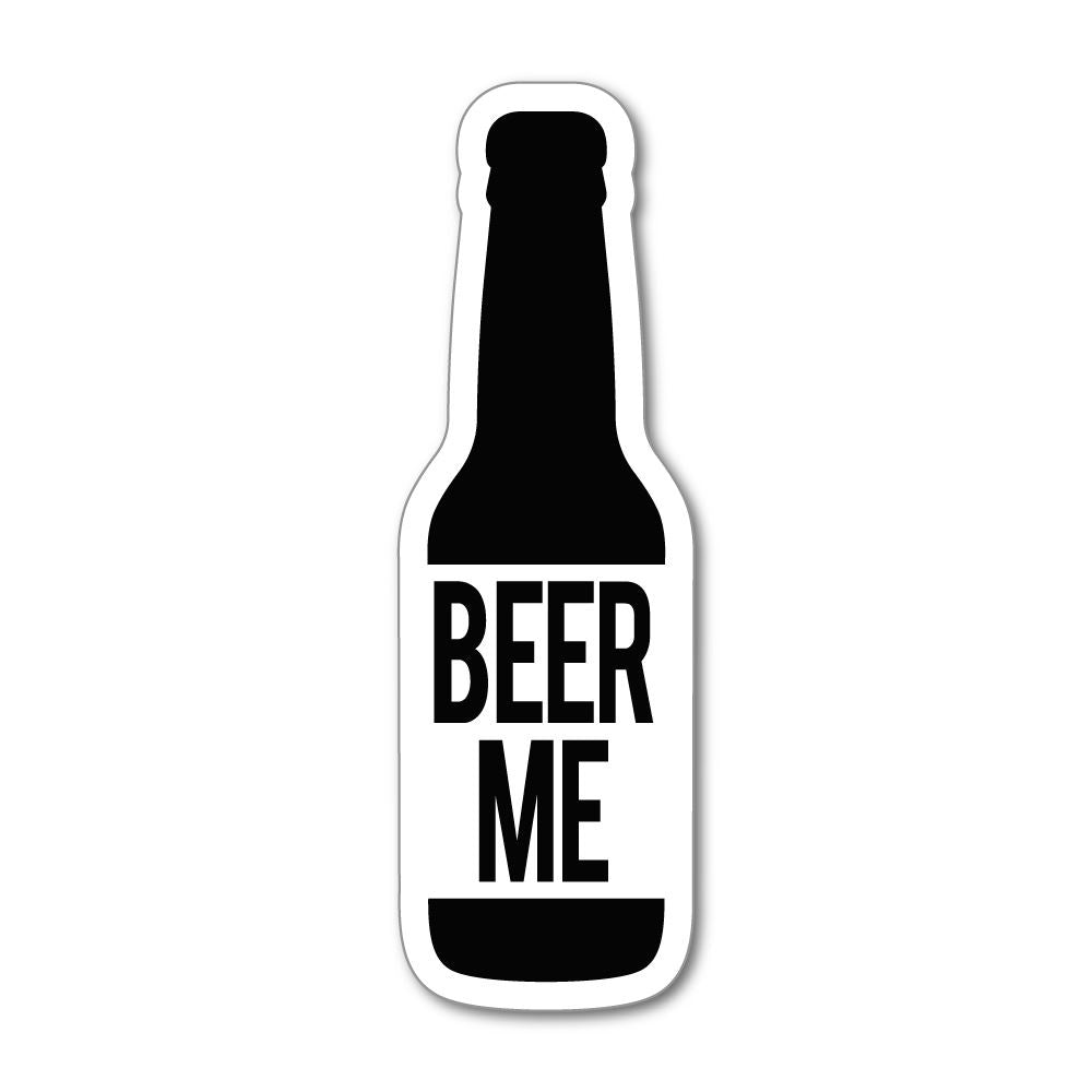 Beer Me Sticker Decal