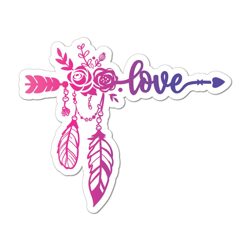 Love Car Sticker Decal