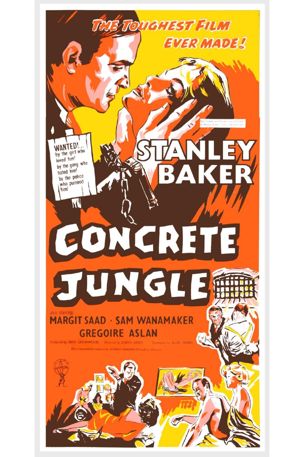 Concrete Jungle Poster Canvas