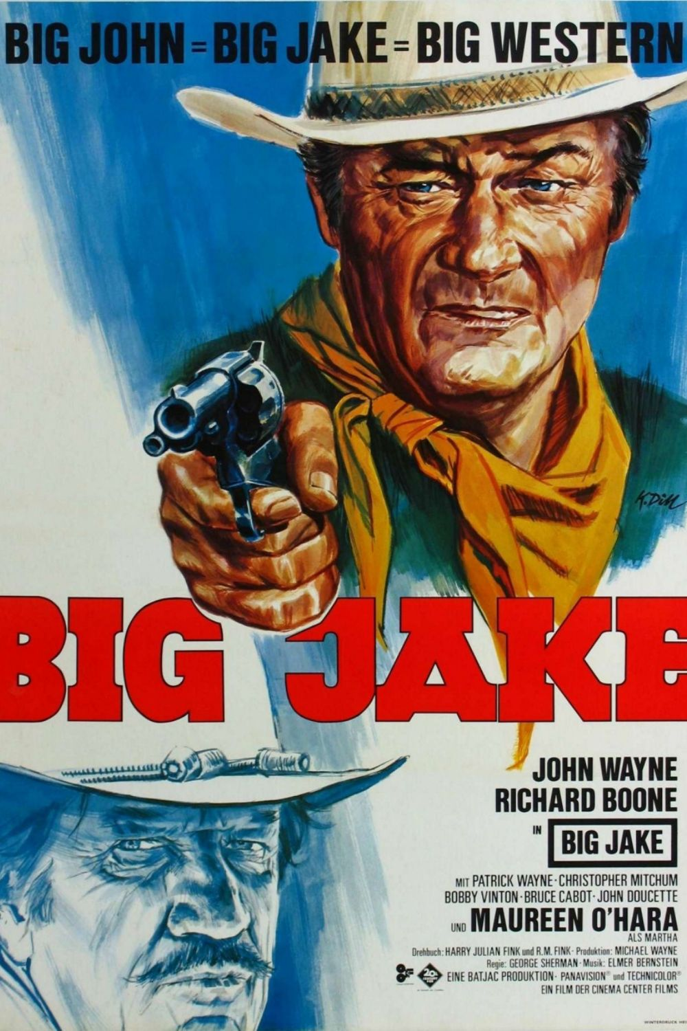 Big Jake Poster Canvas