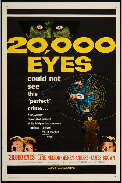 20000 eyes Poster Canvas
