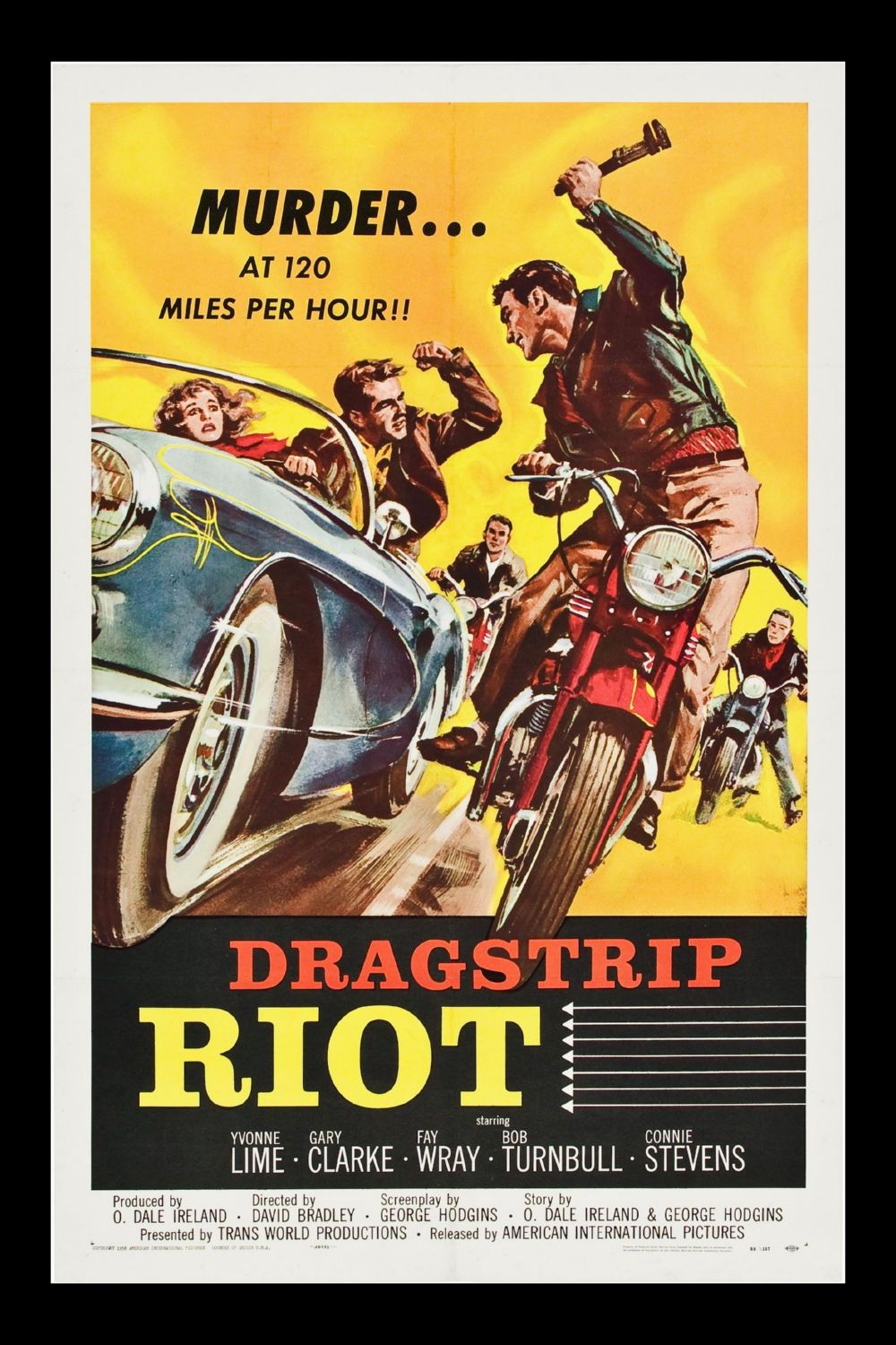 Dragstrip Riot Poster Canvas