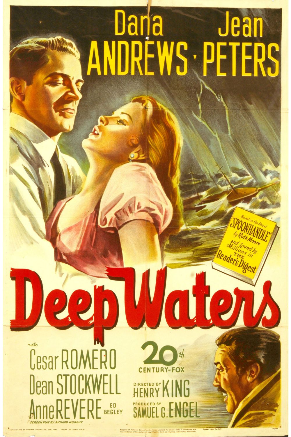 Deep Water Poster Canvas