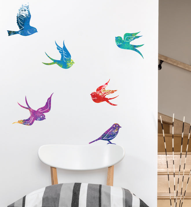 Zen Birds Wall Sticker