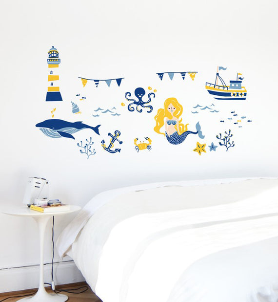 Ocean Collection Sunrise Wall Sticker