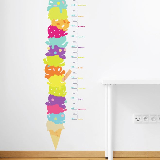 Gelato Height Wall Sticker