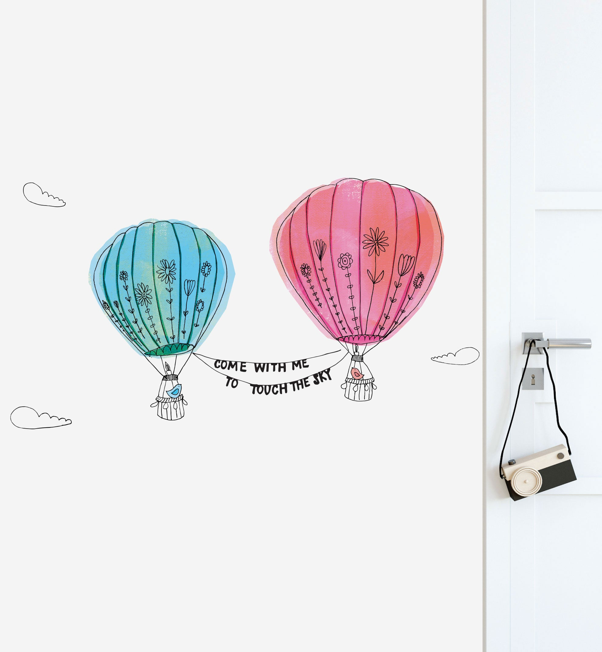 Touch the Sky Wall Sticker