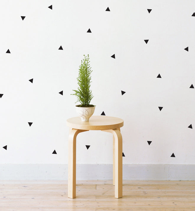 Mini Triangles Pattern Wall Sticker