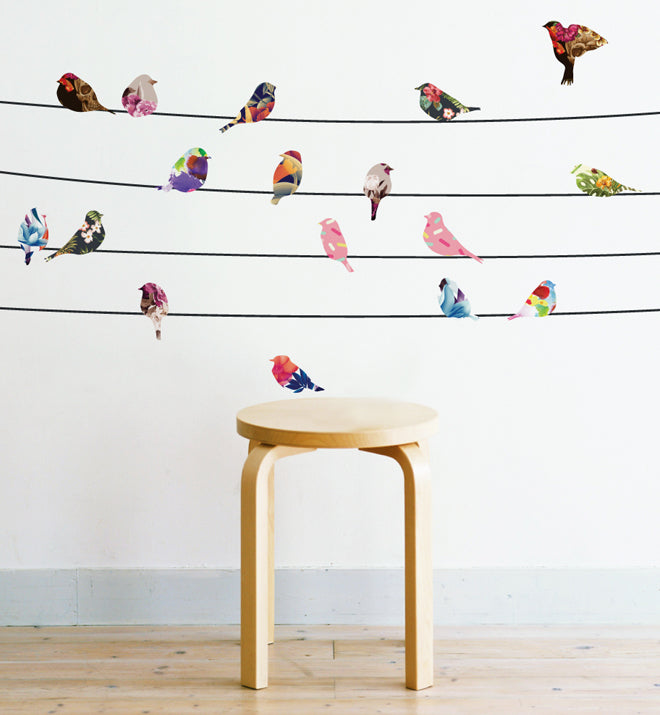 Birds & Blossoms Wall Sticker