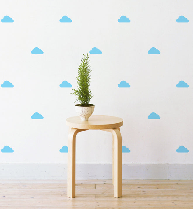 Mini Clouds Pattern Wall Sticker