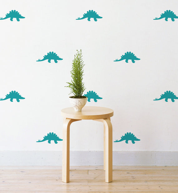 Mini Dinosaurs Pattern Wall Sticker