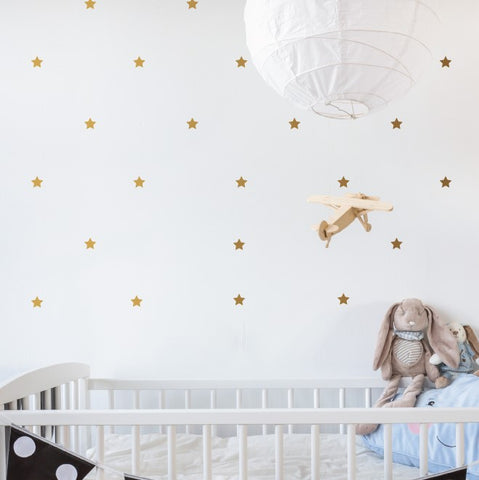 Mini Stars Pattern Wall Sticker