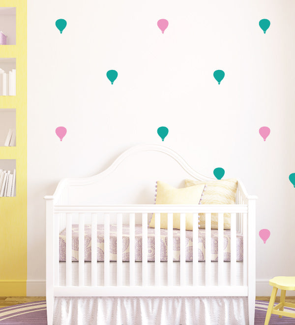 Air Balloons Wall Sticker