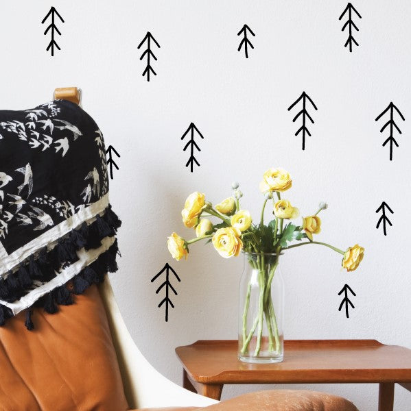 Arrow Drawing Wall Sticker