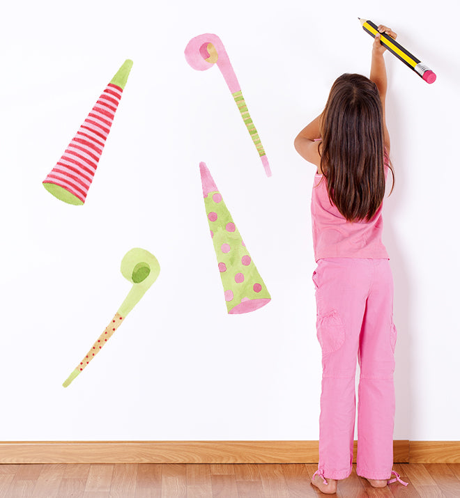 Birthday Girl Party Wall Sticker