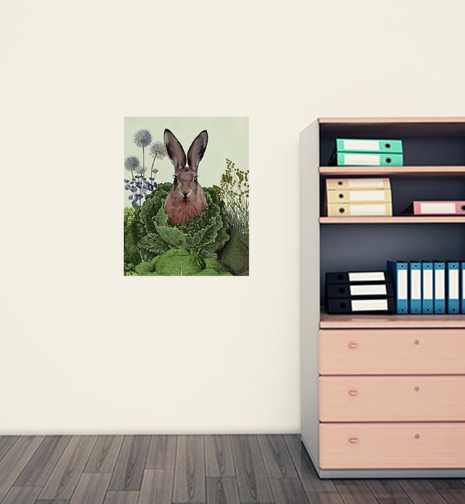 Cabbage Patch Rabbit Wall Sticker