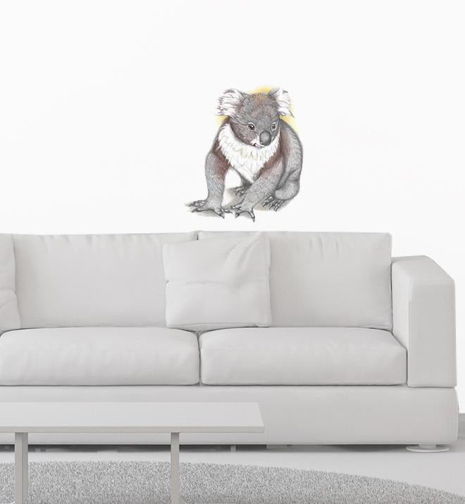 Sitting Koala Wall Sticker